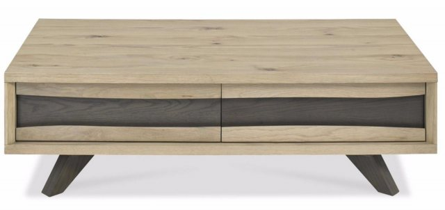 Bentley Designs Bentley Designs Cadell Aged Oak Coffee Table With Drawers