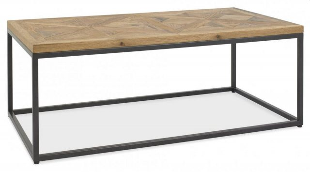 Bentley Designs Bentley Designs Indus Rustic Oak Coffee Table