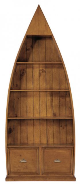 Baker Furniture Bakers Furniture Lifestyle 4 Shelf Dinghy Bookcase